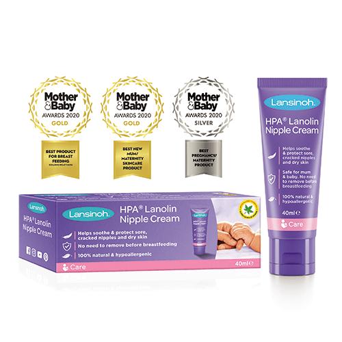 Lansinoh HPA® Lanolin Nipple Cream for Sore & Cracked Nipples 40ML